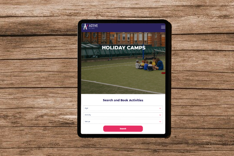 Active day camps ipad