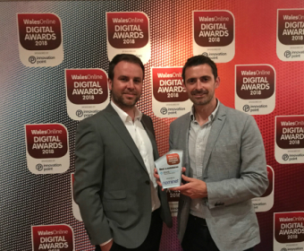 thinkBooker Wins Best e-Commerce Award at WalesOnline Awards