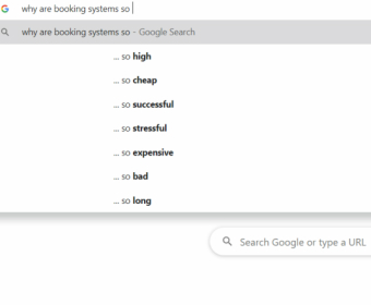 Why Are Booking Systems So?