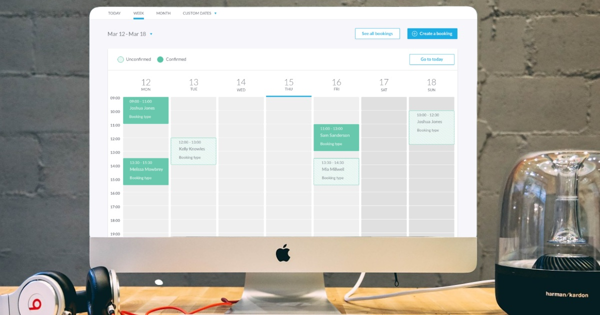 create an online booking system