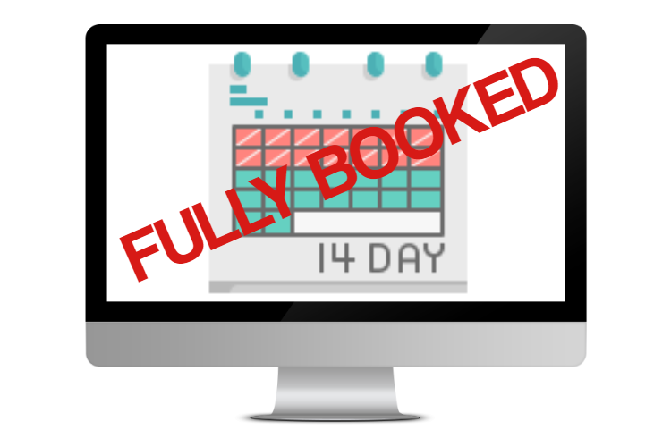 Fully booked image