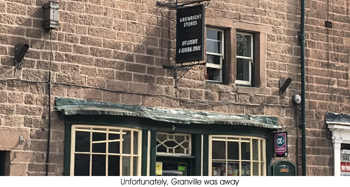 An image of Arkwright Stores, Rural Derbyshire.
