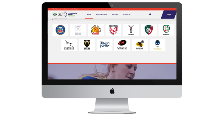 Rugby Camps Booking System